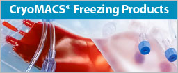 CryoMACS® Freezing Products
